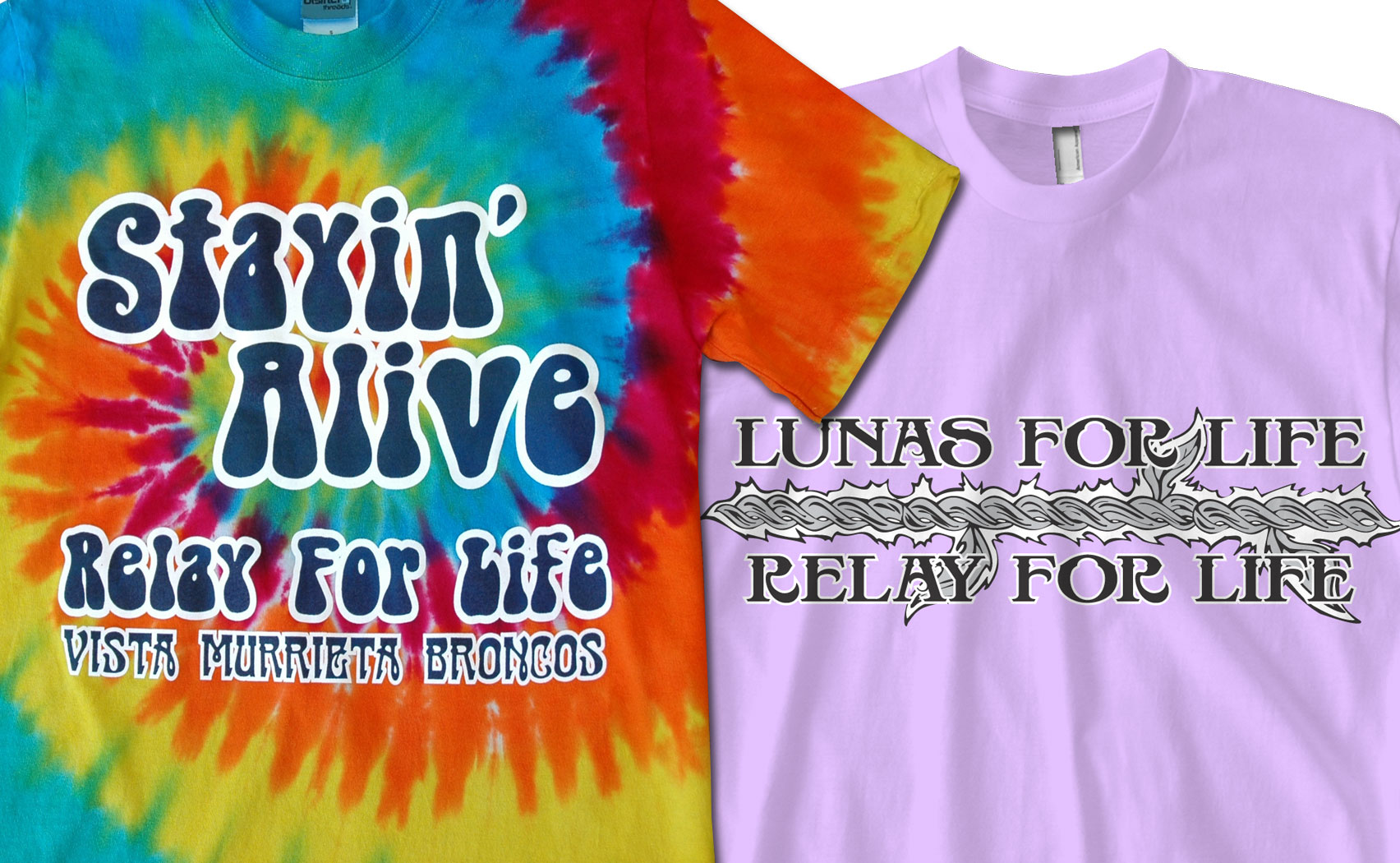Relay for Life T-shirts –  Working with You to Create for a Cause